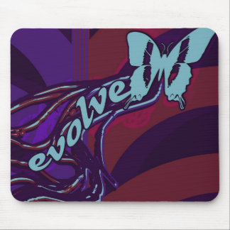Evolve Butterfly Mouse Pad