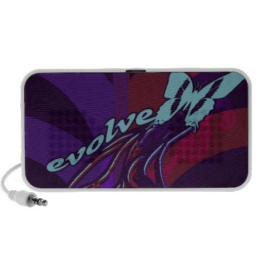 Evolve Butterfly Travelling Speakers