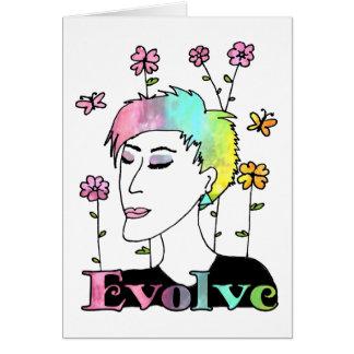 Evolve Card