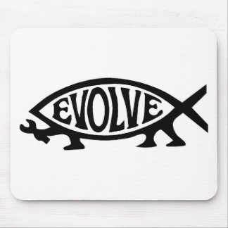 Evolve Fish Mouse Pad
