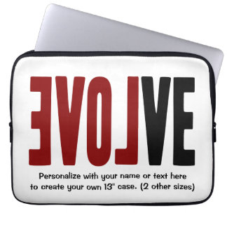 EVOLVE. LOVE. COMPUTER SLEEVE