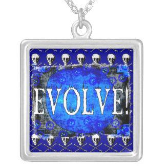 Evolve Square Pendant Necklace