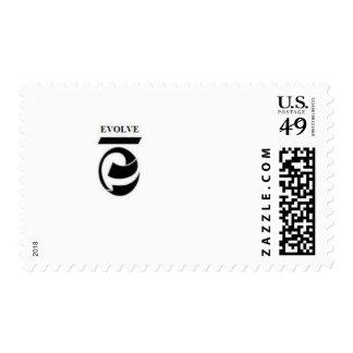 evolve postage stamp