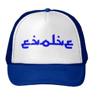 Evolve Sand Script Trucker Hat