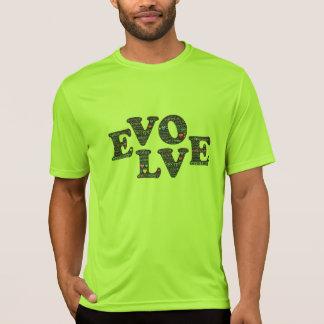 Evolve through being fully present t-shirt