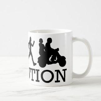 Evolve to Scooters Coffee Mug