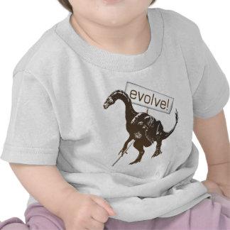 evolve! t shirts