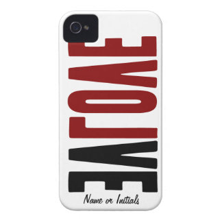 Evolve with LOVE Case-Mate iPhone 4 Case