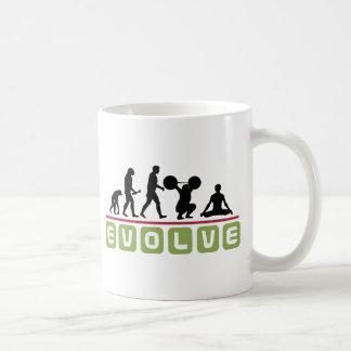 Evolve Yoga Gift Classic White Coffee Mug