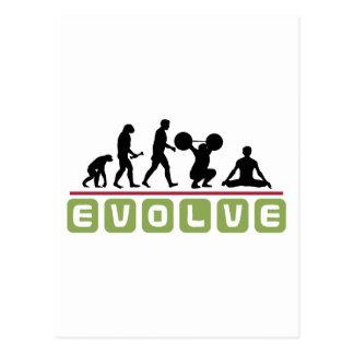 Evolve Yoga Gift Post Cards