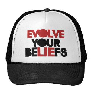 Evolve Your Beliefs Mesh Hat