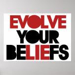 Evolve Your Beliefs Print