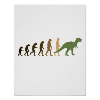 Evolving back to Dinosaurs -- - Pro-Science - Poster