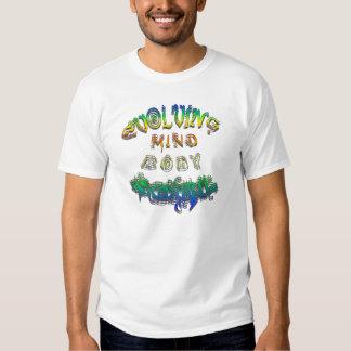 Evolving Mind Body Soul Tee Shirt