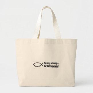 evolving tote bags