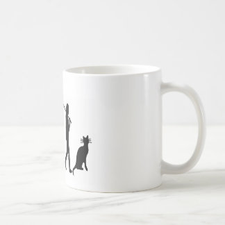 """Evoultion Cat """"We Believe""""-Funny Cat Lovers Coffee Mug"""