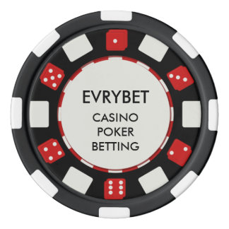 EvryBet Casino Chips Poker Chip Set