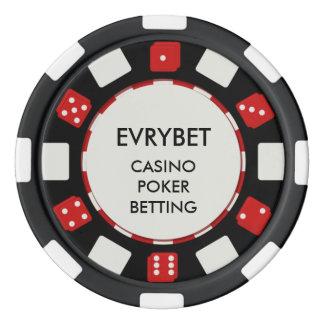 EvryBet Casino Chips Poker Chip Set