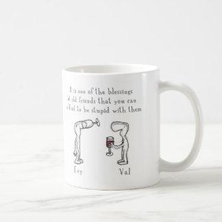 Evy and Val Coffee Mug