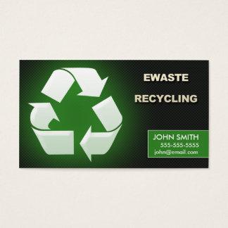 Ewaste Recycling Business Cards - Design 1