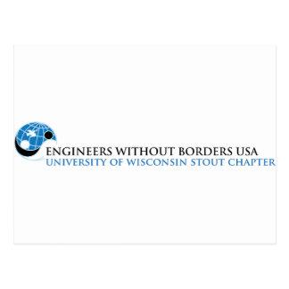 EWB-USA University of Wisconsin Stout Chapter Postcard