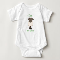 Ewe are Loved - Little Lamb Baby Bodysuit