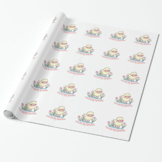 EWE ARE MY SUNSHINE WRAPPING PAPER