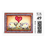 EWE ARE SEW SPECIAL  by SHARON SHARPE Postage Stamps