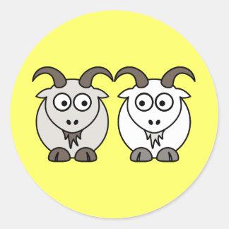 Ewe Get My Goat Classic Round Sticker