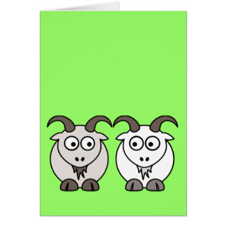 Ewe Get My Goat Greeting Cards