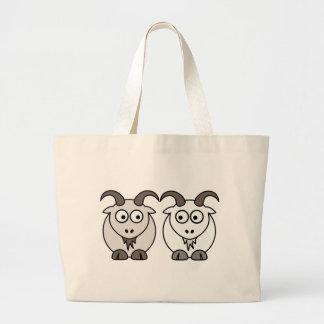 Ewe Get My Goat Large Tote Bag