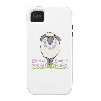 EWE IS NOT FAT Case-Mate iPhone 4 COVER