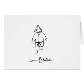 Ewe judoka card