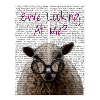 Ewe Looking at Me DeNiro Sheep 2 Postcard