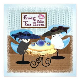 Ewe & Me Tea Invitation