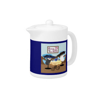 Ewe & Me Tea Room Teapot