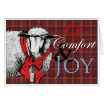 """Ewe"" Tidings of Comfort and Joy Card"