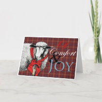 """Ewe"" Tidings of Comfort and Joy Holiday Card"