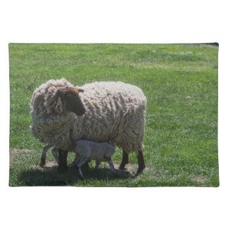Ewe with Lamb Placemat