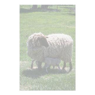 Ewe with Lamb Stationery