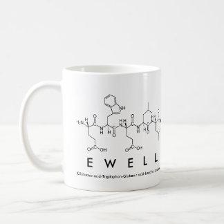 Ewell peptide name mug
