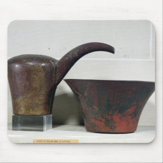 Ewer and basin (copper) mouse pad