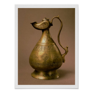 Ewer from Nakhtchivan, Persia, 1190 (586 Hijra) (e Poster