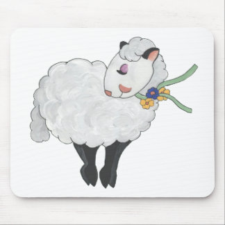 Ewe's not Fat, Ewe's Fluffy! Mouse Pad
