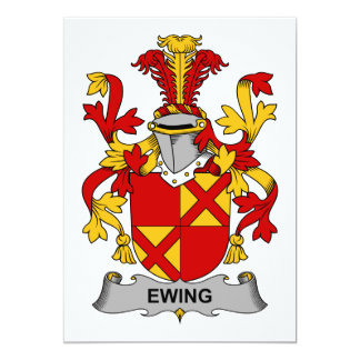 Ewing Family Crest Card