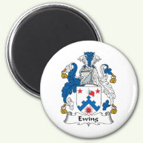 Ewing Family Crest Magnet