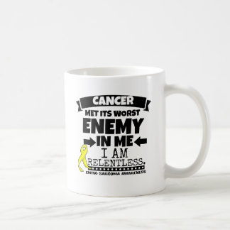 Ewing Sarcoma Cancer Met Its Worst Enemy in Me Coffee Mug
