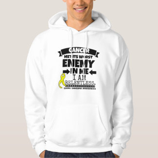 Ewing Sarcoma Cancer Met Its Worst Enemy in Me Hoody