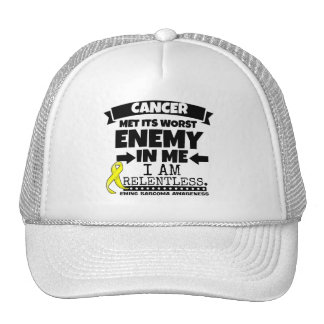Ewing Sarcoma Cancer Met Its Worst Enemy in Me Trucker Hat