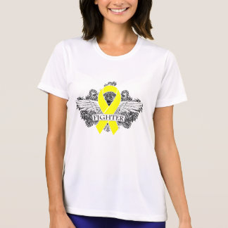 Ewing Sarcoma Fighter Wings T Shirt
